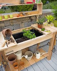 Potting Bench Diy How To Build A Shed
