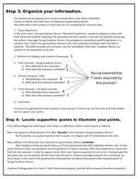 Literary Analysis Essay Example Middle School Free Essay