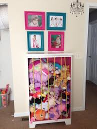diy stuffed animal storage tutorial you lovely zoo 7