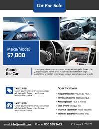 Modern Car For Sale Flyer Template