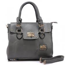 Coach Sadie Flap In Spectator Medium Grey Satchels AOJ
