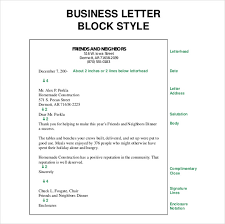 Brilliant Ideas of Sample Block Style Business Letter For Your Sample Proposal