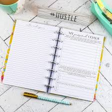 Design Your Own Planner Inserts Amazon Com Goal Planning Planner Inserts Junior Discbound