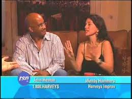 John Henton & Wendy Hammers on Howie's Late Night Rush - YouTube