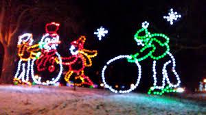 Washington Park Albany Ny Christmas Lights Albany Ny Washington Park Christmas Lights Youtube