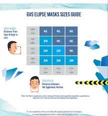 Half Mask Respirator Size Chart Elipse Respirator Half Mask P100 Niosh New Free Ship Size