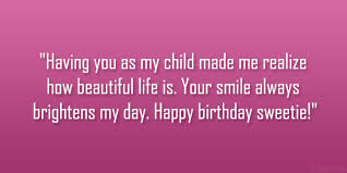 Beautiful Quotes For My Daughter Best of Birthday Quotes Loving Daughter SloDive