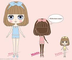 Blythe Doll Size Chart Lollitams New Blythe Sized Doll Middie