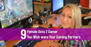 9 female dota 2 gamer you wish were your gaming partners