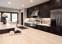 contemporary kitchen ideas. Kitchen Design Ideas Dark Cabinets Best Decoration Fc Quartzite Countertops Contemporary Kitchens