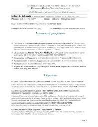 Diagnostic Medical Sonographer Cover Letter Diagnostic Medical