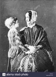 JANE M.A. PIERCE (1806-1863). /nMrs. Franklin Pierce. Daguerreotype Stock  Photo - Alamy