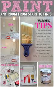 Tips For Caulking Trim Livelovediy How To Paint A Room