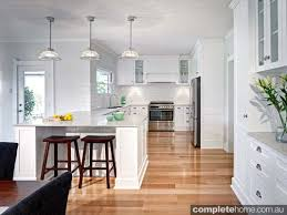 Beautiful hampton style kitchen designs ideas Round White Kitchen Transformation Completehome White Kitchen Transformation Completehome