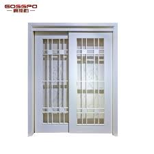 china white paint wood frame sliding glass door gsp3 031 china glass wood door glass sliding door