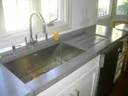 faux concrete countertops cooker