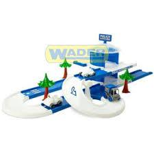 Детский игровой <b>набор полиция</b> Play Track City <b>Wader</b> (53520 ...