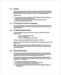 help desk service level agreement template 32 shared services service level agreement template 95 best