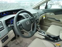 Beige Interior 2012 Honda Civic LX Sedan Photo #58532781 ...