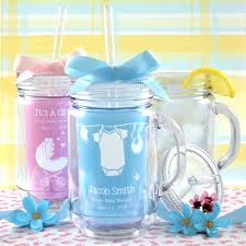 Mason Jar Decorations For Baby Shower Baby Shower Mason Jar Tumbler Personalized Baby Shower Favors 2