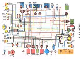 1981 xs650 stock wiring diagram in color