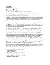 Define Expository Essay Expository Essay