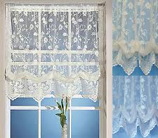 Wisteria Arbor Lace Balloon ShadeLace Window Blinds