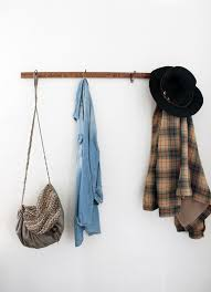 Vintage Wall Coat Rack DIY Yardstick Coat Rack C R A F T Y Pinterest Coat Racks 36
