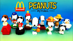 2018 mcdonald s peanuts snoopy world happy meal toys full set 10 kid chinese lunar new year dog asia