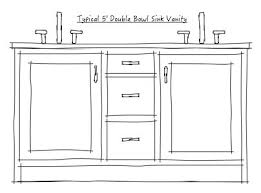 5 double sink vanity. the one caveat of this is if bath large enough for 2 separate sink vanity areas or you have more than 72\ 5 double