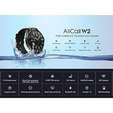 BUYYO AllCall <b>W2 Smartwatch</b>, 3G Smartwat- Buy Online in ...