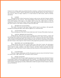 form l5 8 joint venture agreement template south africa purchase