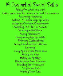 19 Essential Social Skills The Healing Path With Children