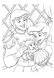 Small Picture Download The Little Mermaid 2 Coloring Pages