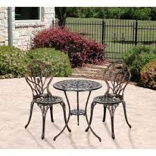 cast iron frame patio furniture