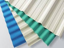 white plastic corrugated roofing sheets 1130mm width 2mm thickness images