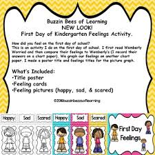 First Day Feelings Posters And Activity Education