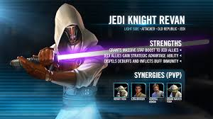 Jedi Light Unit Name Jedi Knight Revan Alignment Light Categories