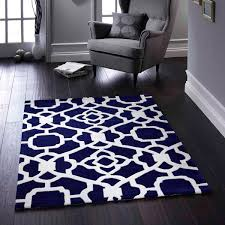 marrakesh blue white oriental rug by rug guru 1
