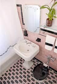 pink retro bathroom pink bathroom