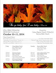 Country Kitchen Willard Ohio Fall Conference October 10 11 2014 The Ohio Bible Fellowship