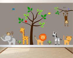 jungle wall decals jungle wall