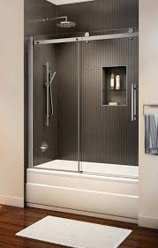 shower glass treatment reviews bathtub enclosures shower doors fully framed glass and tub