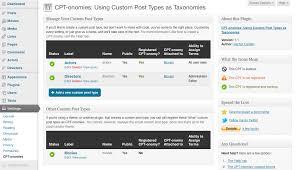 Is single custom post type wordpress