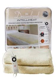 mattress heater. intelliheat mattress protector single bed size comes with 1 control heater