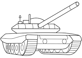 Small Picture Military Armored Tank coloring page Free Printable Coloring Pages