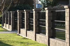 brick fences. Delighful Brick Brick Throughout Fences C