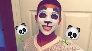 easy panda face paint tutorial stylezbyjubae