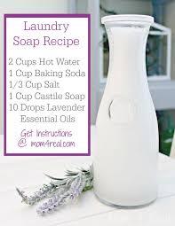 homemade liquid laundry soap borax free
