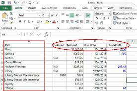 how to make a budget make a personal budget on excel in 4 easy steps